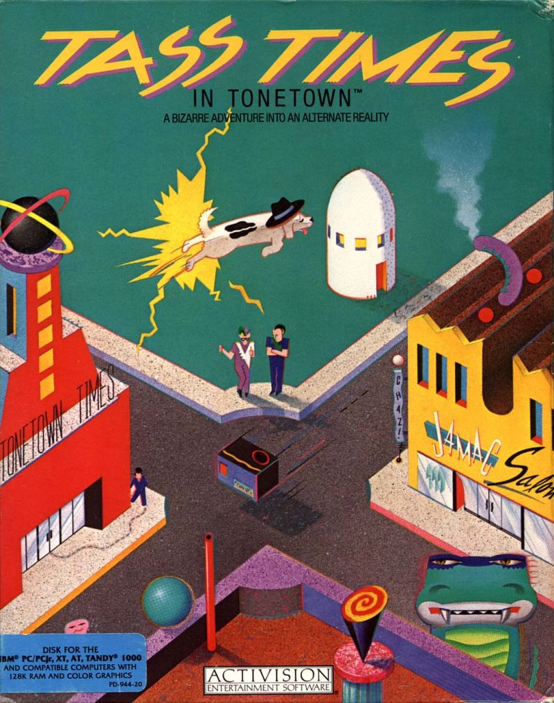 Tass Times in Tonetown PC Booter Front Cover