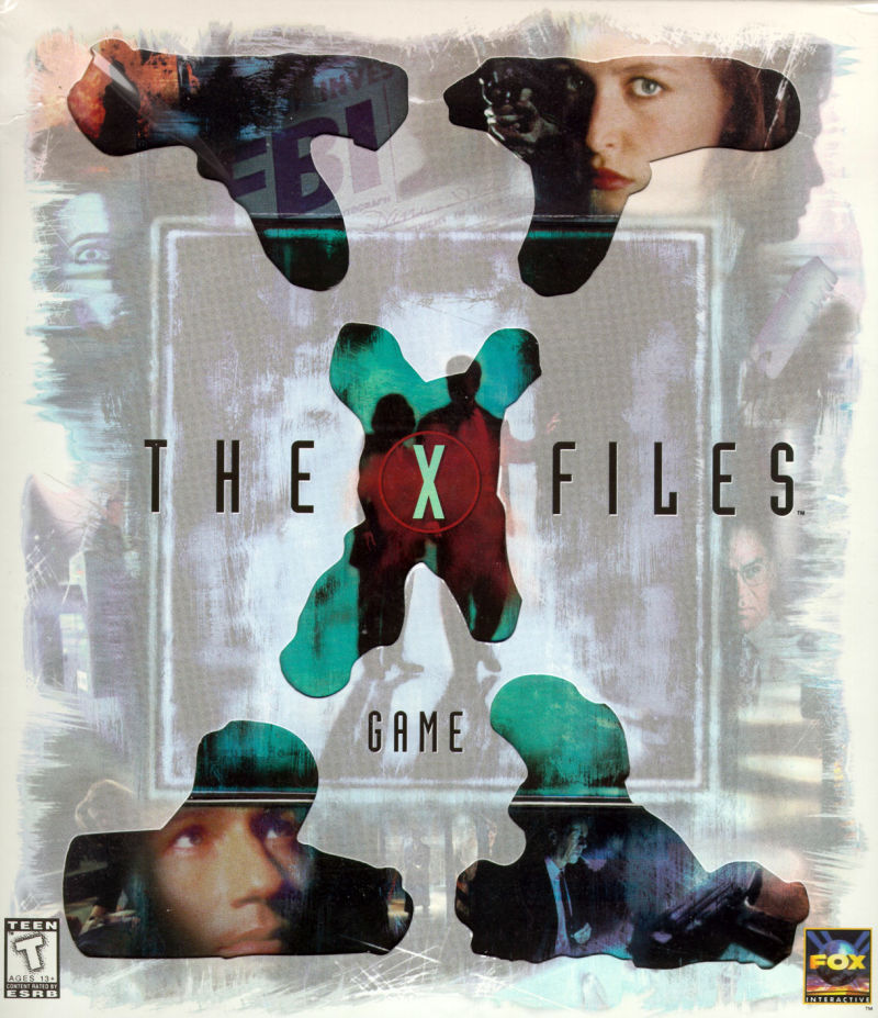 The X-Files Game Windows Front Cover