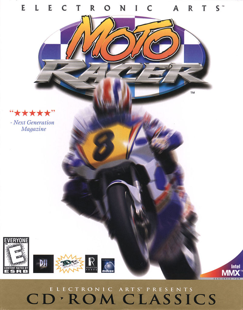 Moto Racer Windows Front Cover