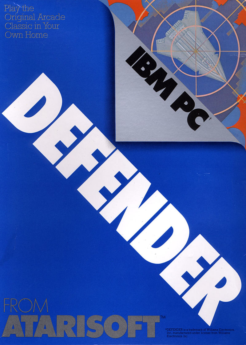 Defender PC Booter Front Cover