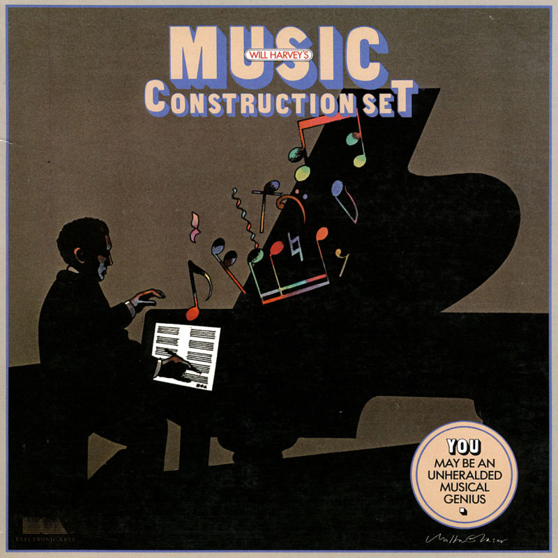 Will Harvey's Music Construction Set PC Booter Front Cover