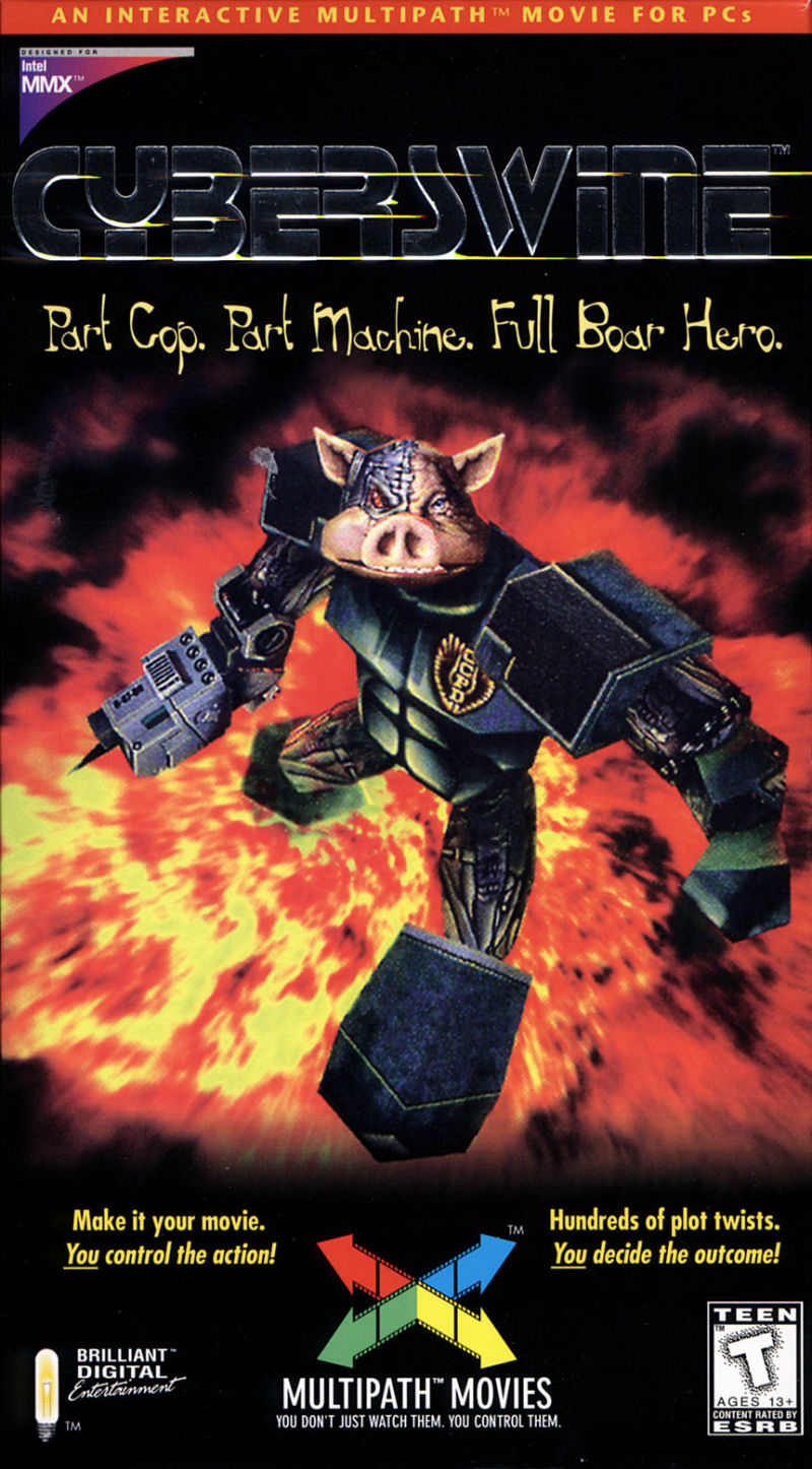 Cyberswine Windows Front Cover