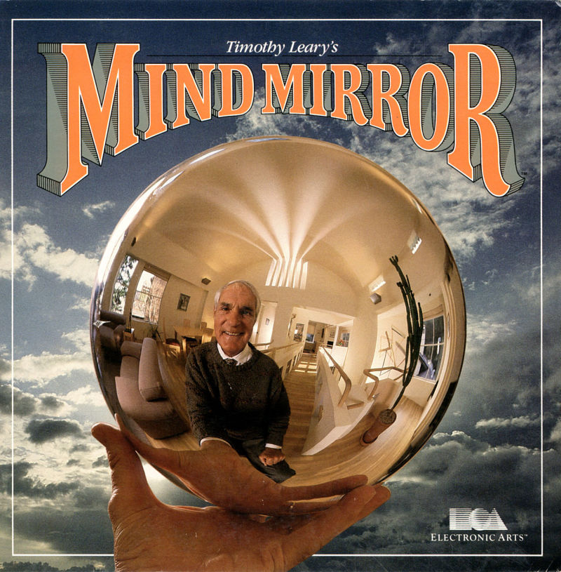 Timothy Leary's Mind Mirror PC Booter Front Cover