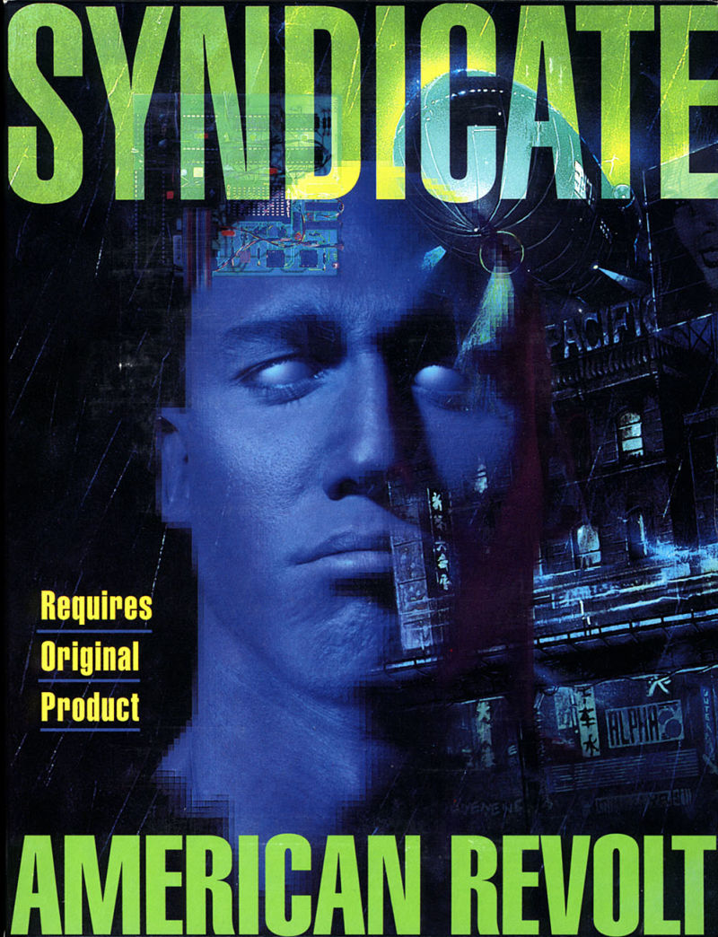Syndicate: American Revolt DOS Front Cover