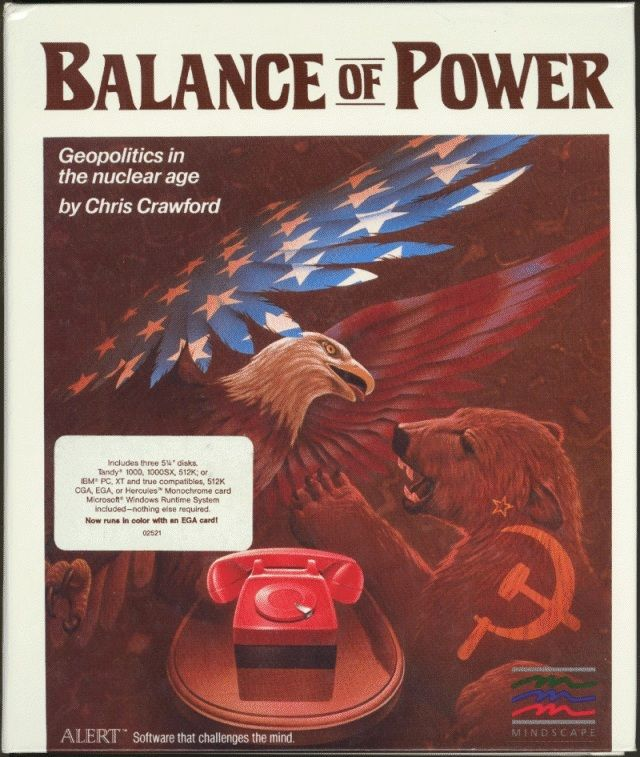 Balance of Power DOS Front Cover