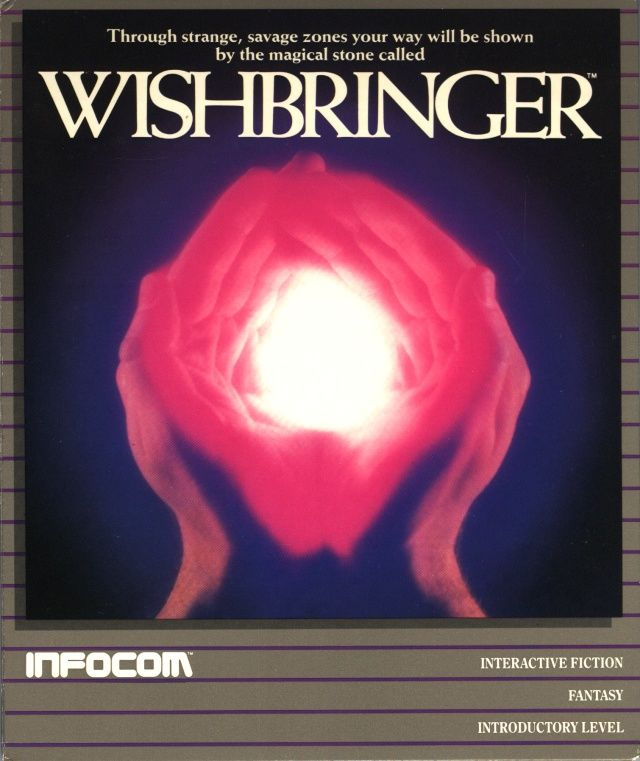 Wishbringer Atari ST Front Cover