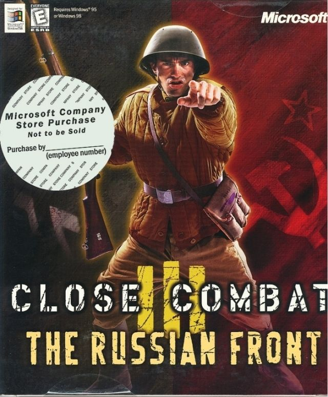 Close Combat III: The Russian Front Windows Front Cover