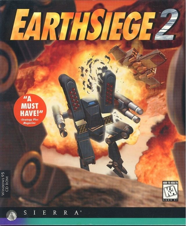 EarthSiege 2 Windows Front Cover
