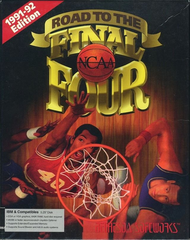 NCAA: Road to the Final Four DOS Front Cover