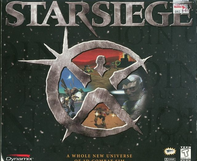 Starsiege Windows Front Cover