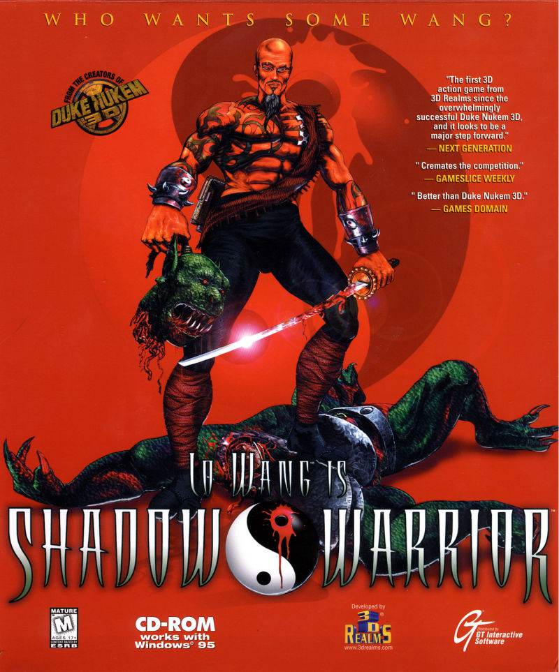 Shadow Warrior DOS Front Cover