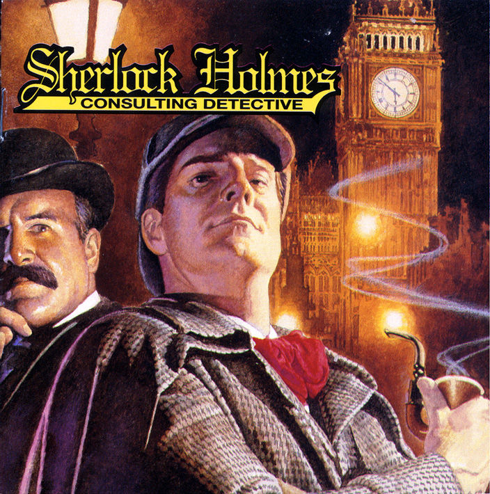 Sherlock Holmes: Consulting Detective DOS Front Cover