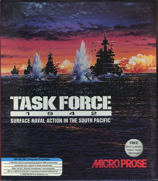 Task Force 1942 DOS Front Cover