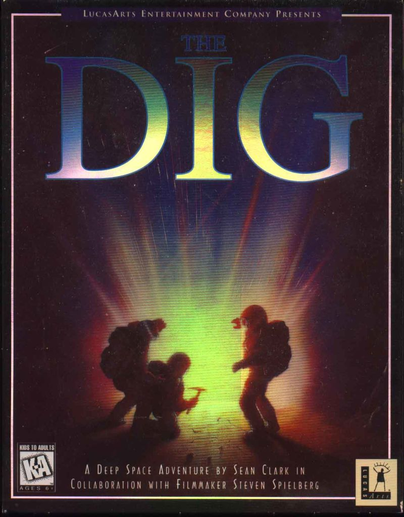 The Dig DOS Front Cover