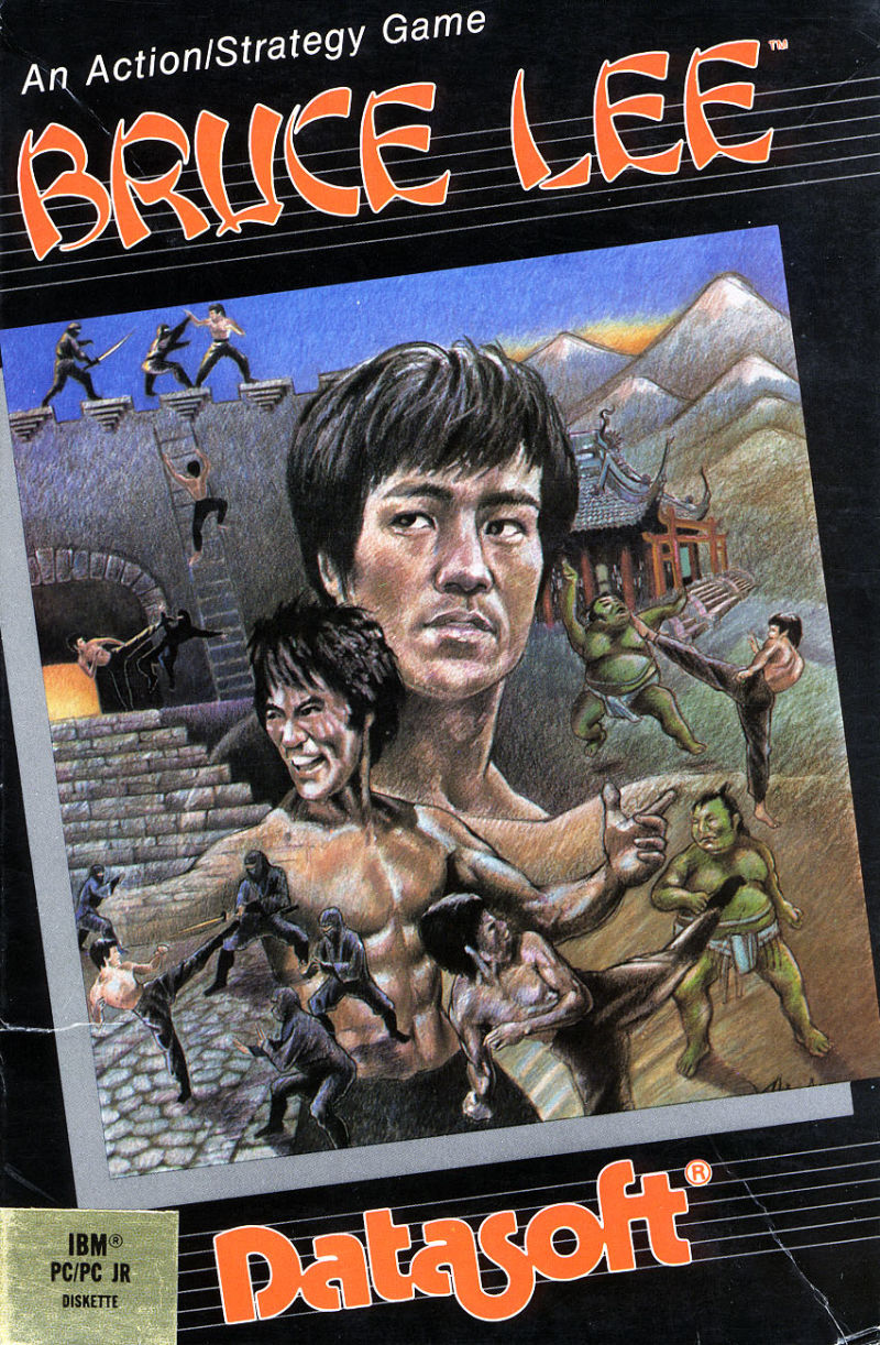 Bruce Lee PC Booter Front Cover