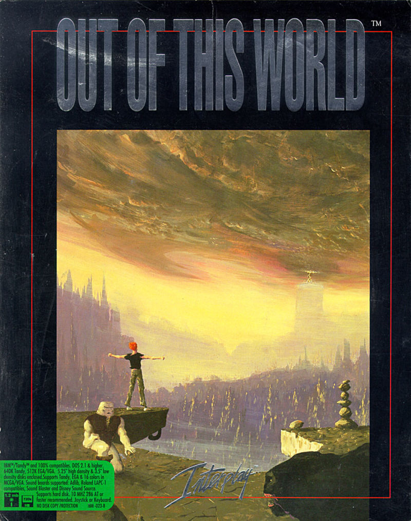 Out of This World DOS Front Cover