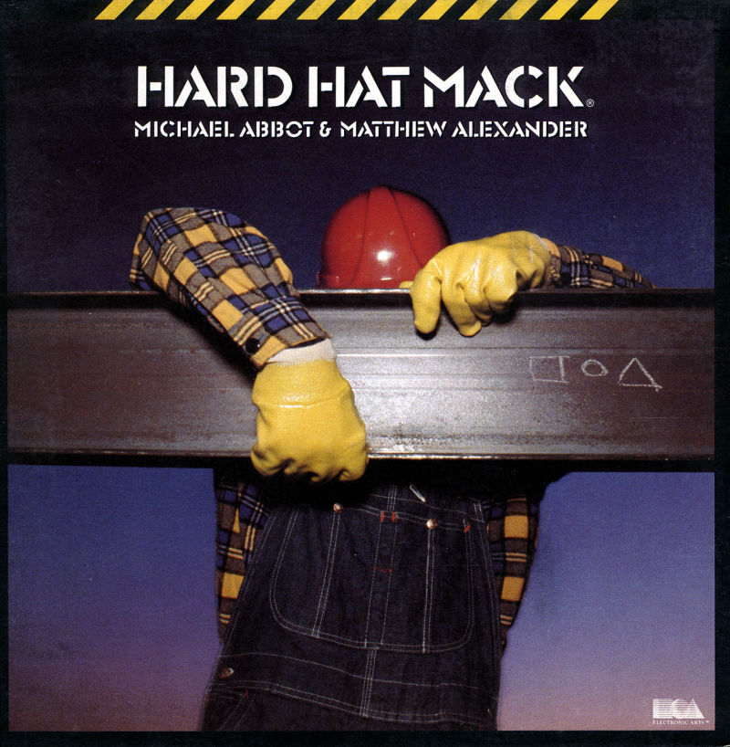 Hard Hat Mack PC Booter Front Cover