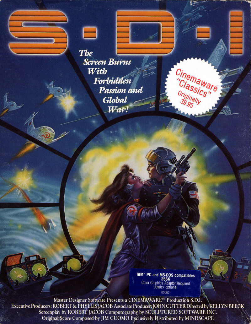 S.D.I. DOS Front Cover