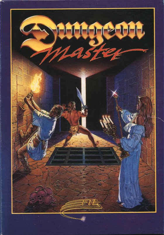Dungeon Master DOS Front Cover