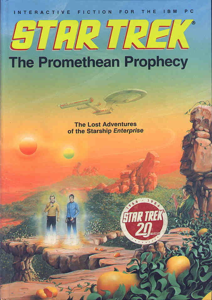 Star Trek: The Promethean Prophecy DOS Front Cover