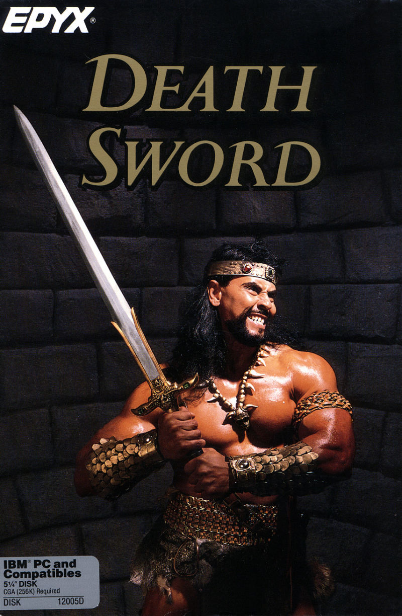 Death Sword DOS Front Cover