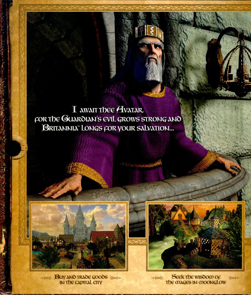 Ultima IX: Ascension Windows Inside Cover Flap Page Three