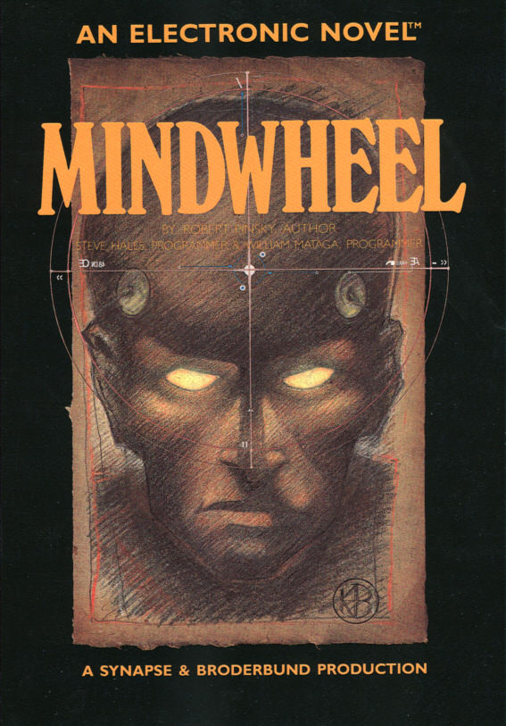 Mindwheel DOS Front Cover