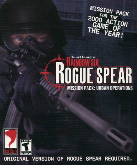 Tom Clancy's Rainbow Six: Rogue Spear Mission Pack - Urban Operations Windows Front Cover