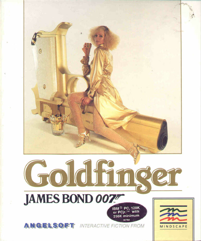 James Bond 007: Goldfinger PC Booter Front Cover