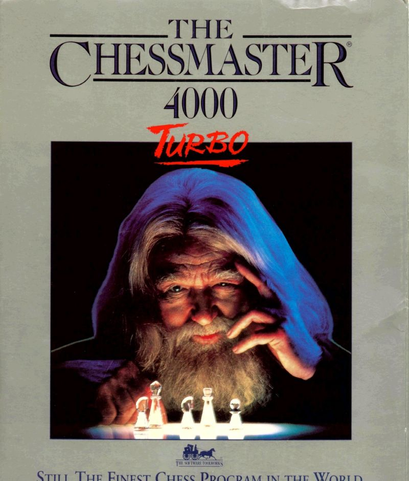 The Chessmaster 4000 Turbo Windows 3.x Front Cover