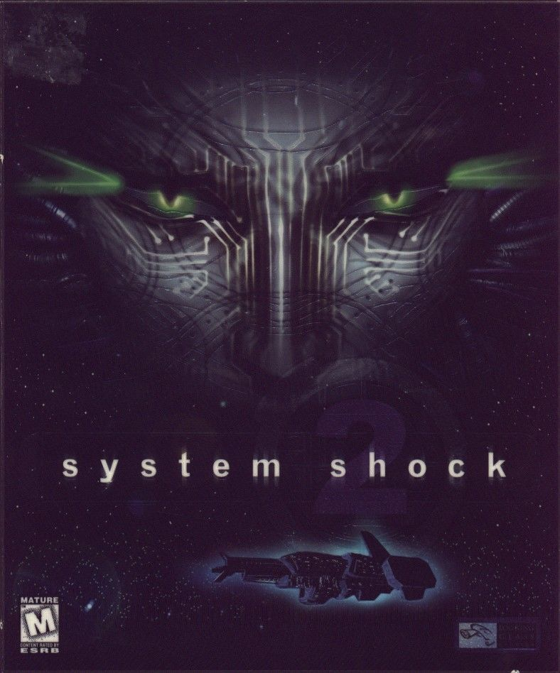System Shock 2 Windows Front Cover