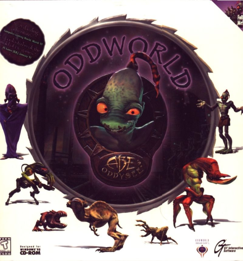 Oddworld: Abe's Oddysee Windows Front Cover