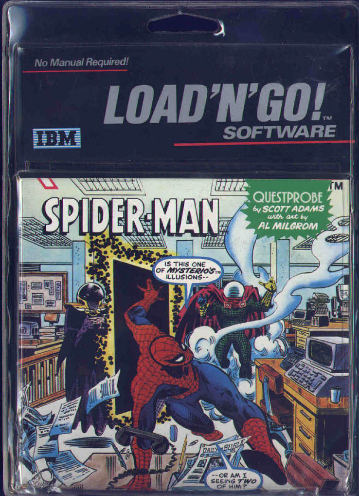 Spider-Man DOS Front Cover