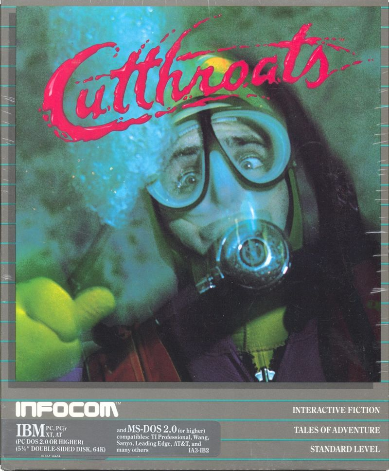 Cutthroats DOS Front Cover