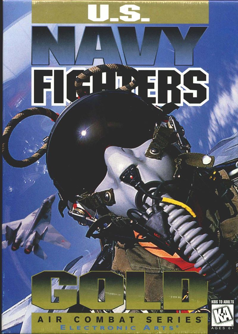(PC) U.S. Navy Fighters (Gold) (1995)  963467975-00