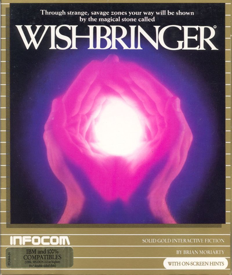Wishbringer DOS Front Cover