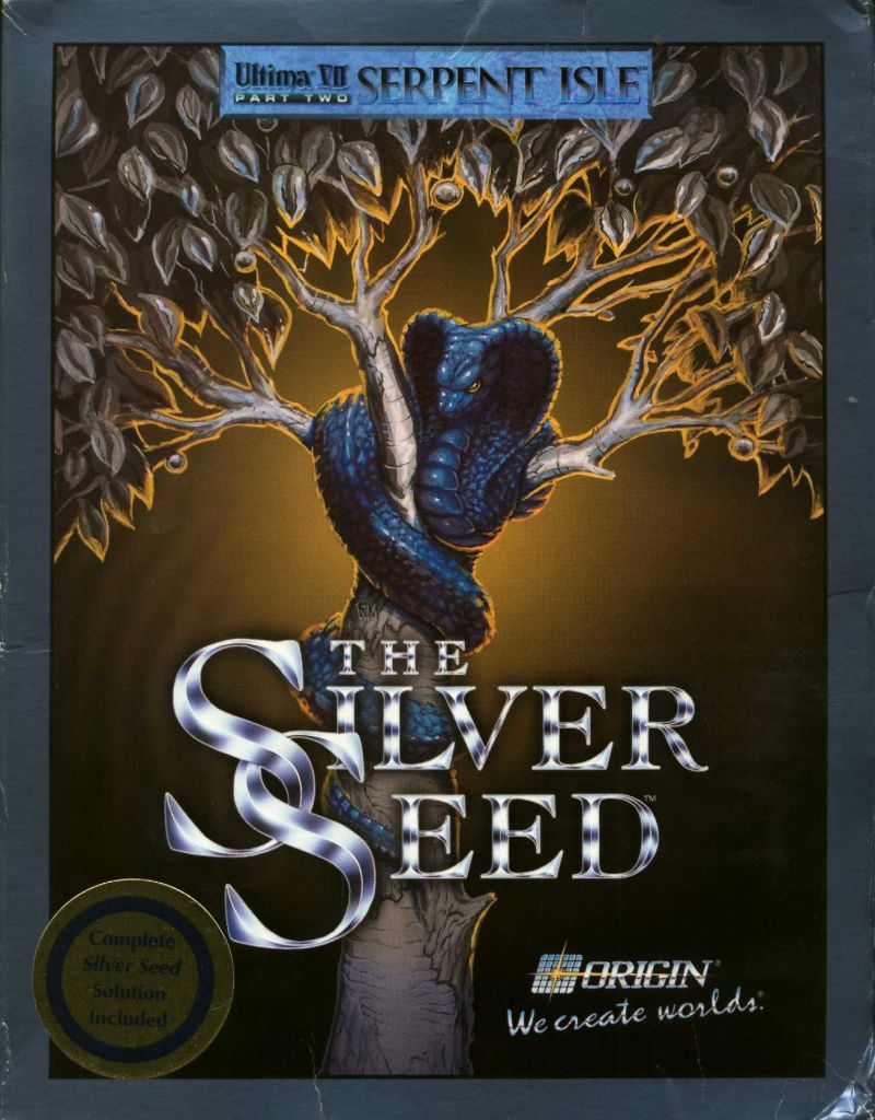 Ultima VII: Part Two - The Silver Seed DOS Front Cover