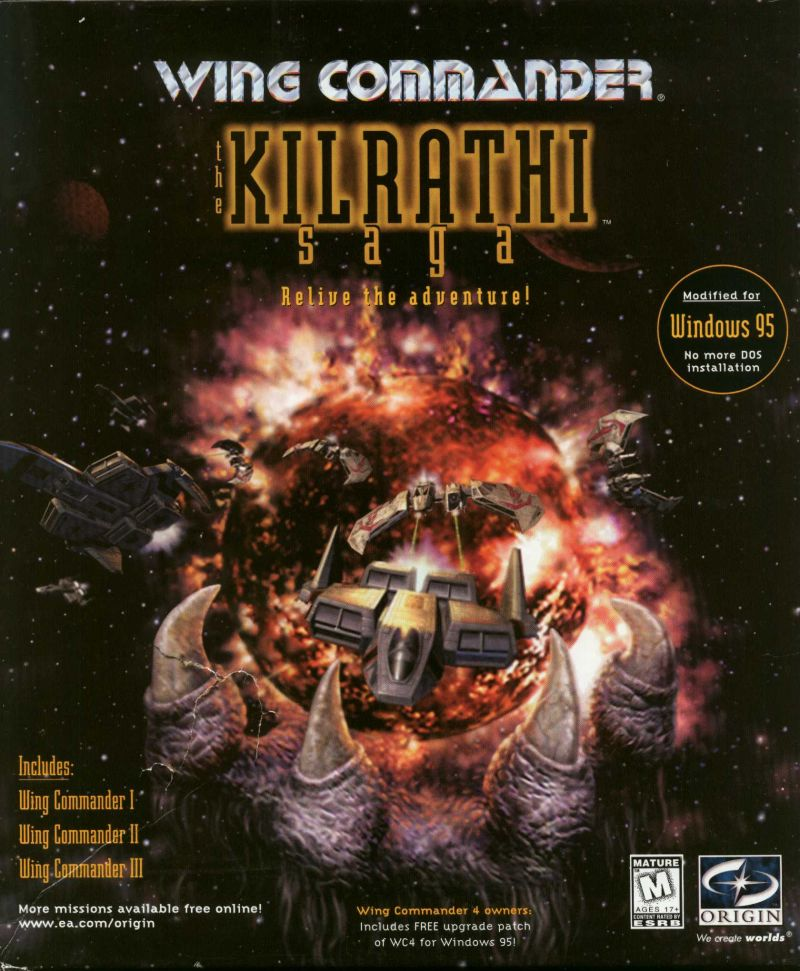 Wing Commander: The Kilrathi Saga Windows Front Cover