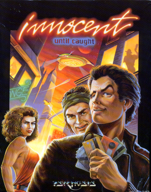 Innocent Until Caught DOS Front Cover