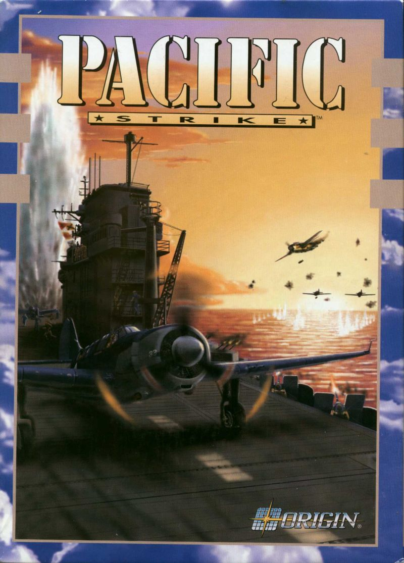 Pacific Strike DOS Front Cover