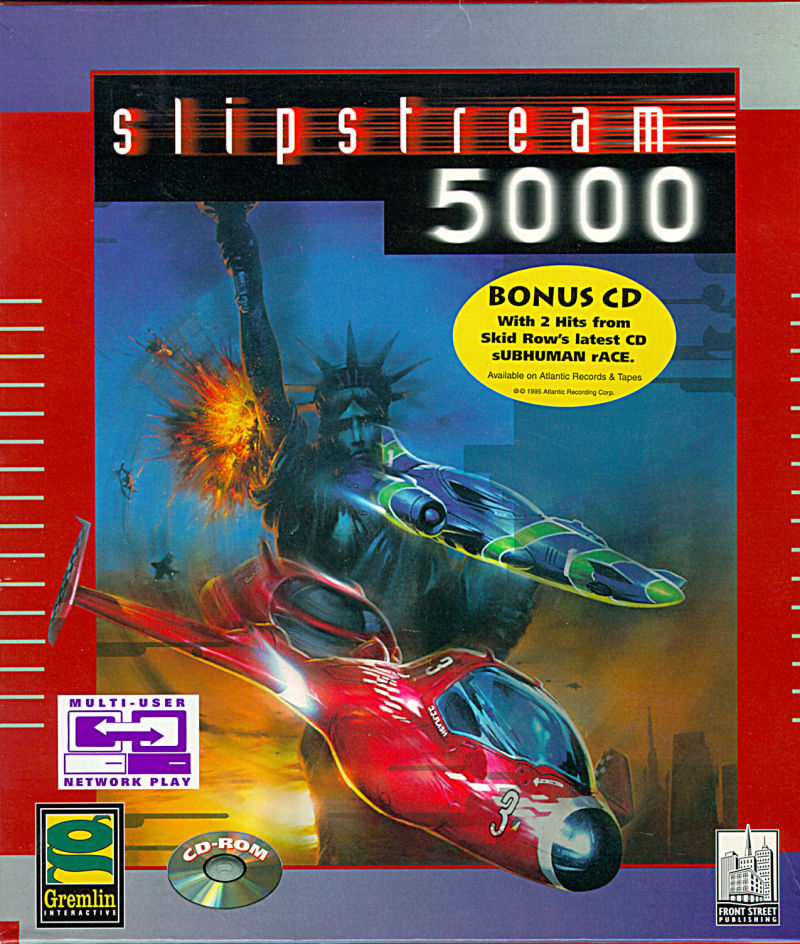 Slipstream 5000 DOS Front Cover