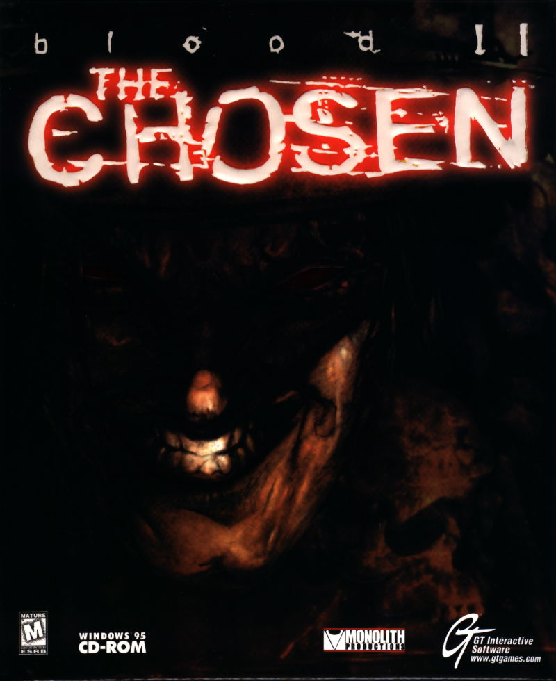 Blood II: The Chosen Windows Front Cover