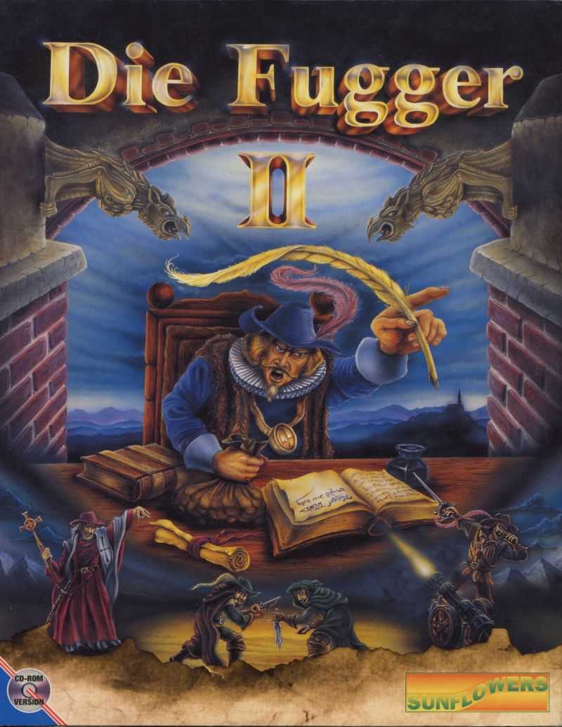 Die Fugger II DOS Front Cover