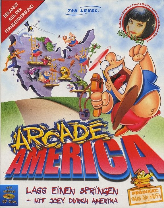 Arcade America Windows Front Cover