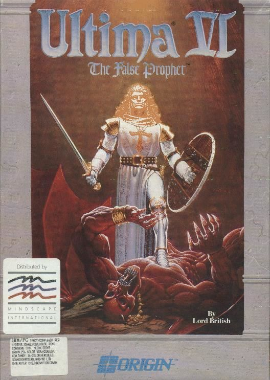 Ultima VI: The False Prophet DOS Front Cover