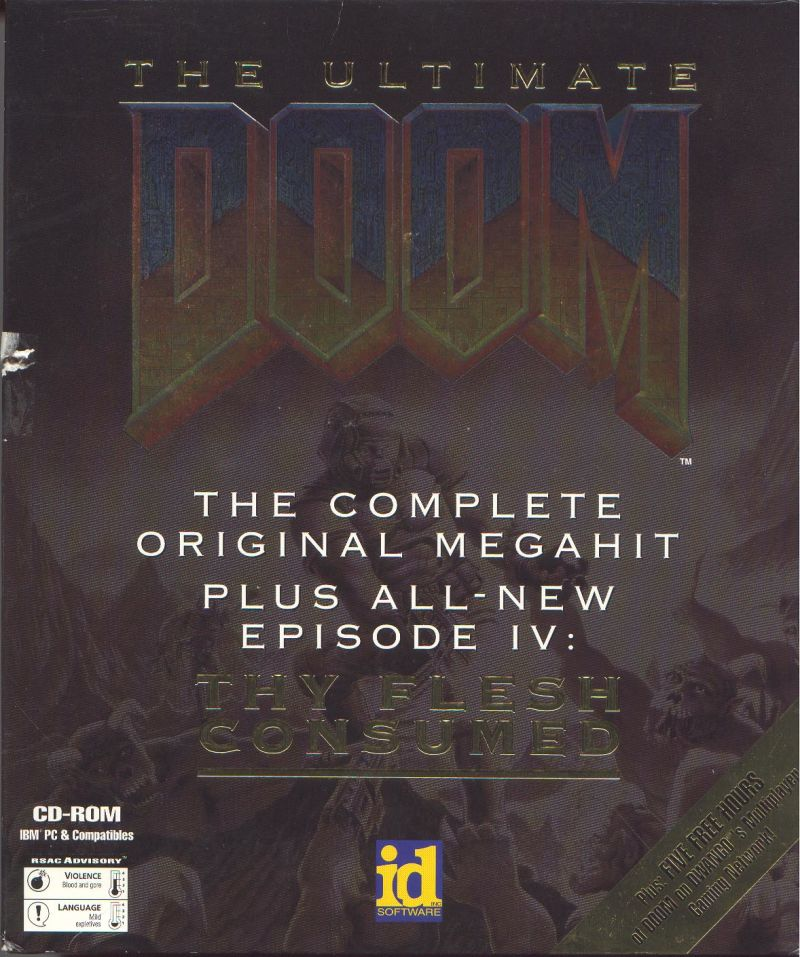 The Ultimate DOOM DOS Front Cover