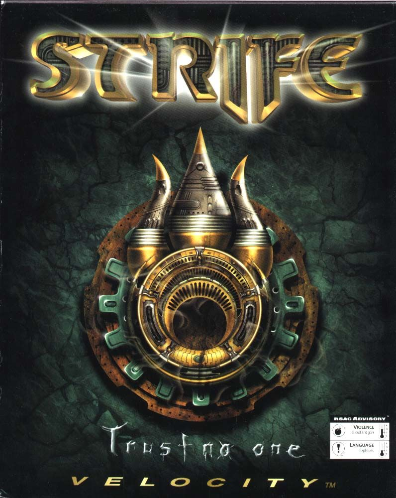 Strife DOS Front Cover