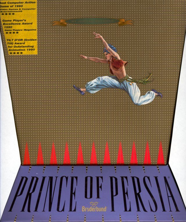 Prince of Persia 1 - Front cover