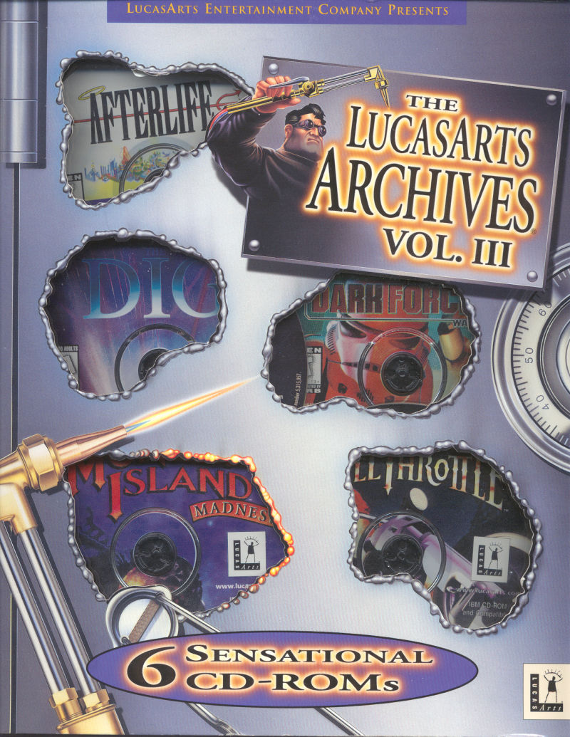 The LucasArts Archives Vol. III DOS Front Cover