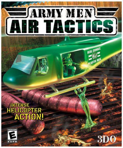 Army Men: Air Tactics Windows Front Cover
